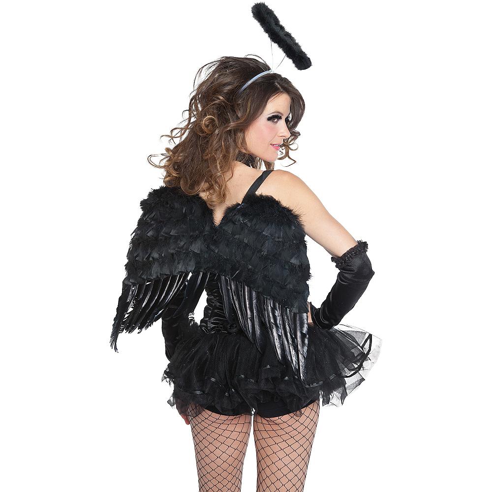 Black Angel Wings Image #2