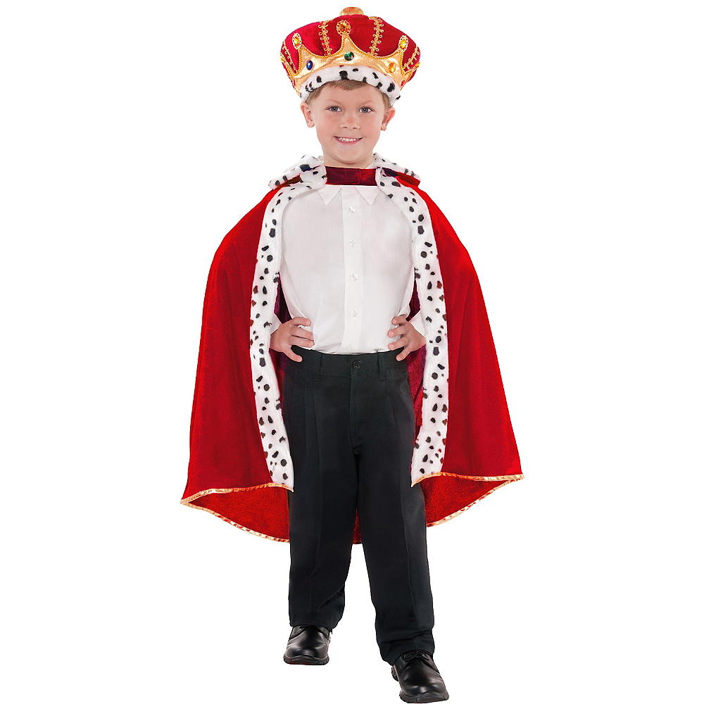 Nav Item for Child King Cape Image #1