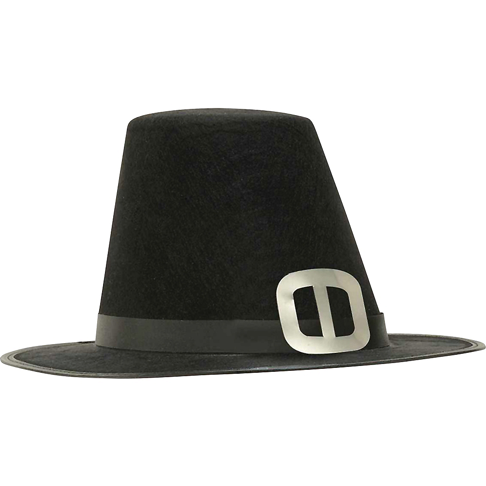 Nav Item for Silver Buckle Pilgrim Hat Image #1