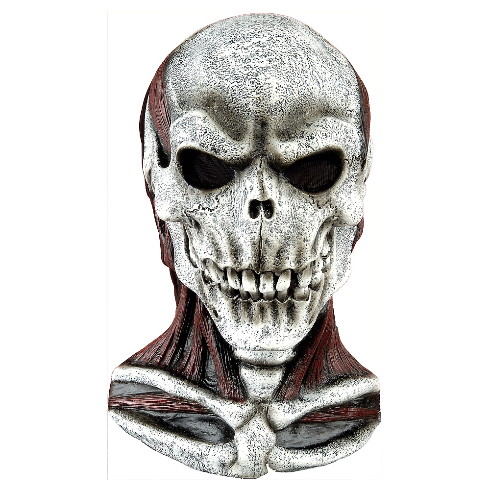Skull Mask with Chest Piece Image #1