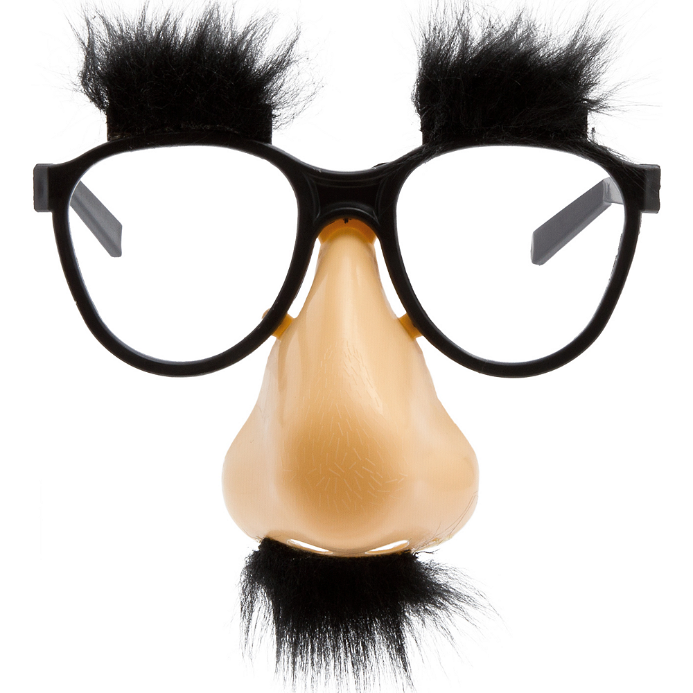 Fuzzy Puzz Glasses | Party City
