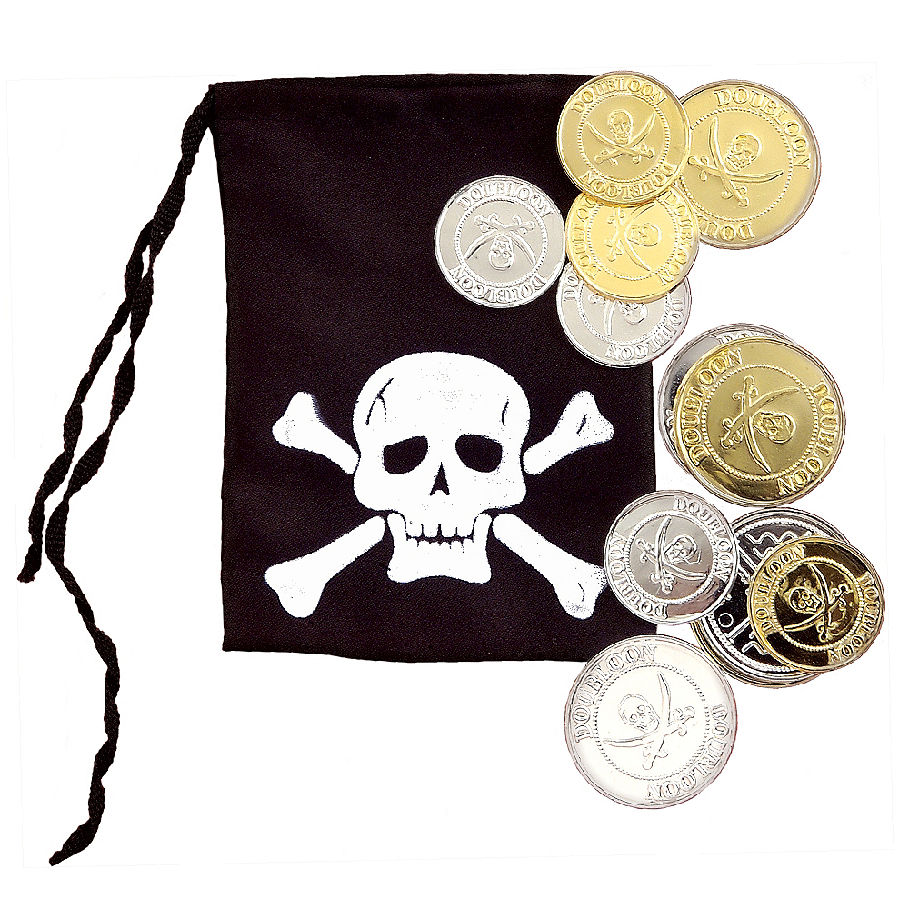 Pirate Pouch & Coin Set Image #1