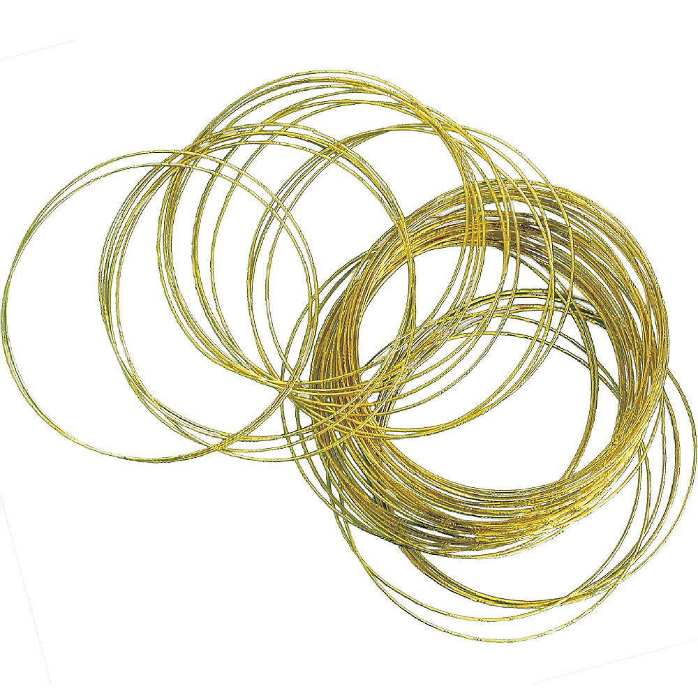 Gold Bangle Bracelets 50ct Image #1