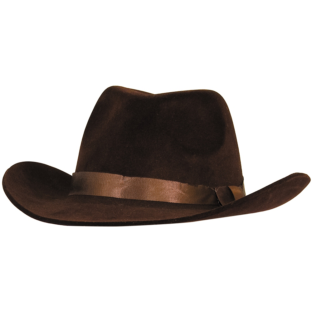 Flocked Cowboy Hat Image #1