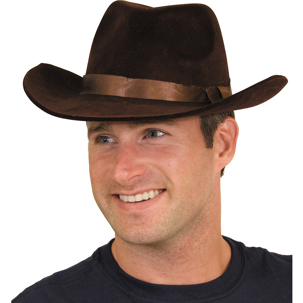 Flocked Cowboy Hat Image #3