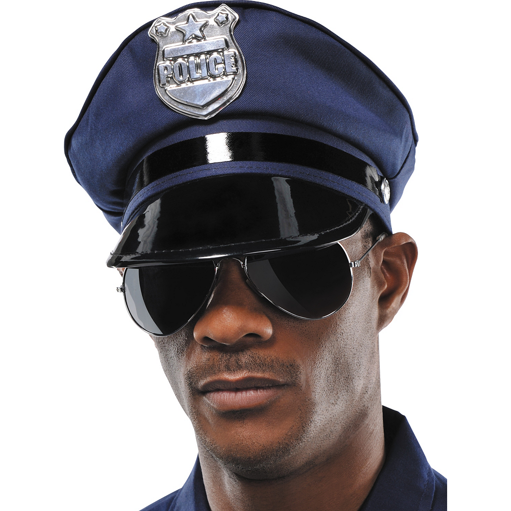 police hat 8in x 4in party city