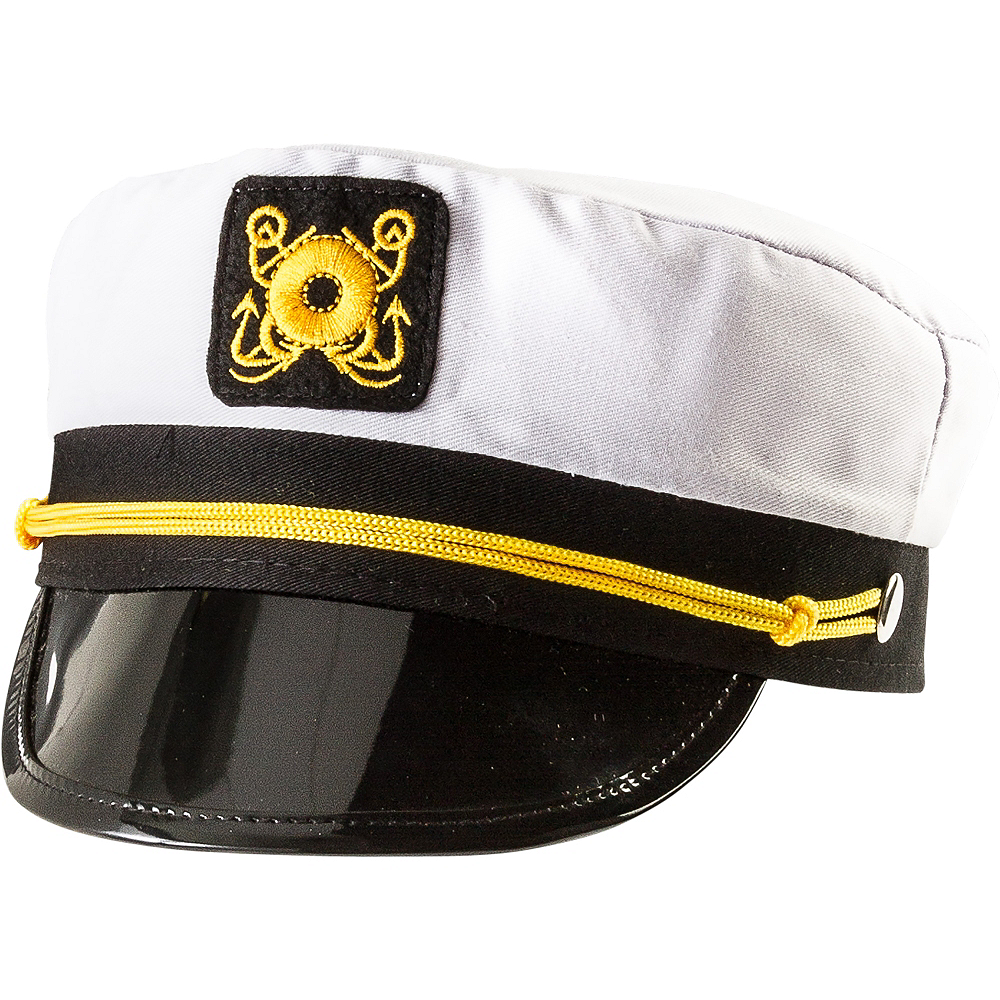 68120171989f9 Skipper Captain Hat 8in x 4in