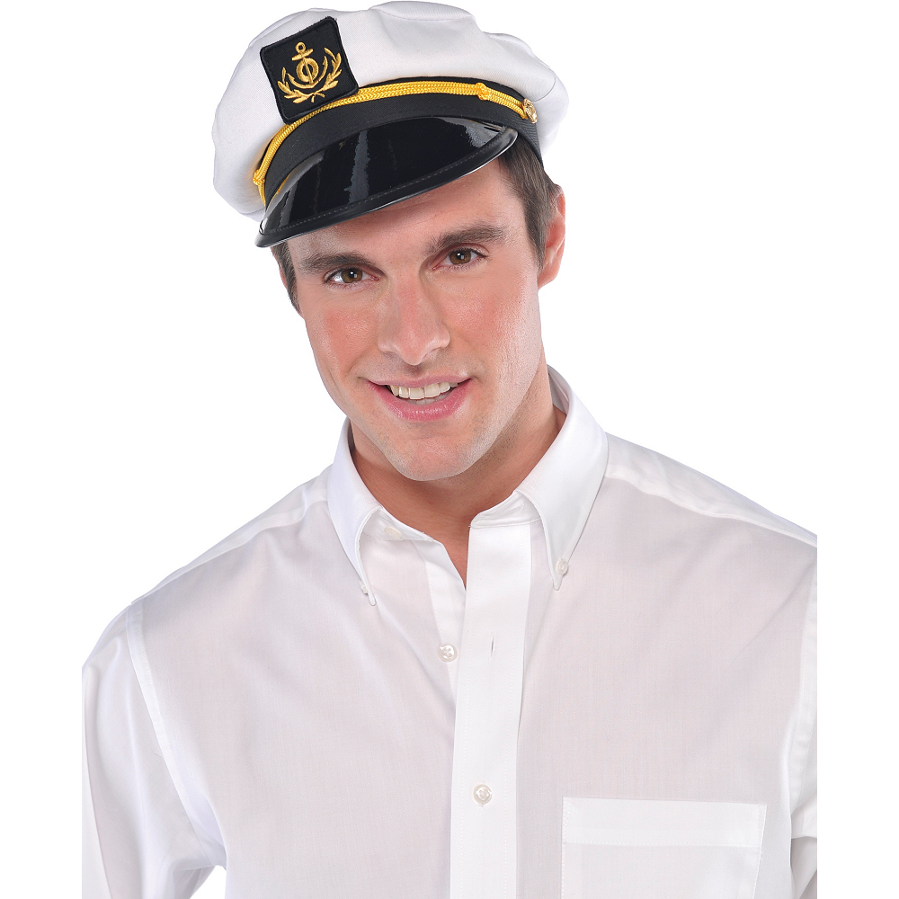Skipper Captain Hat Image #2