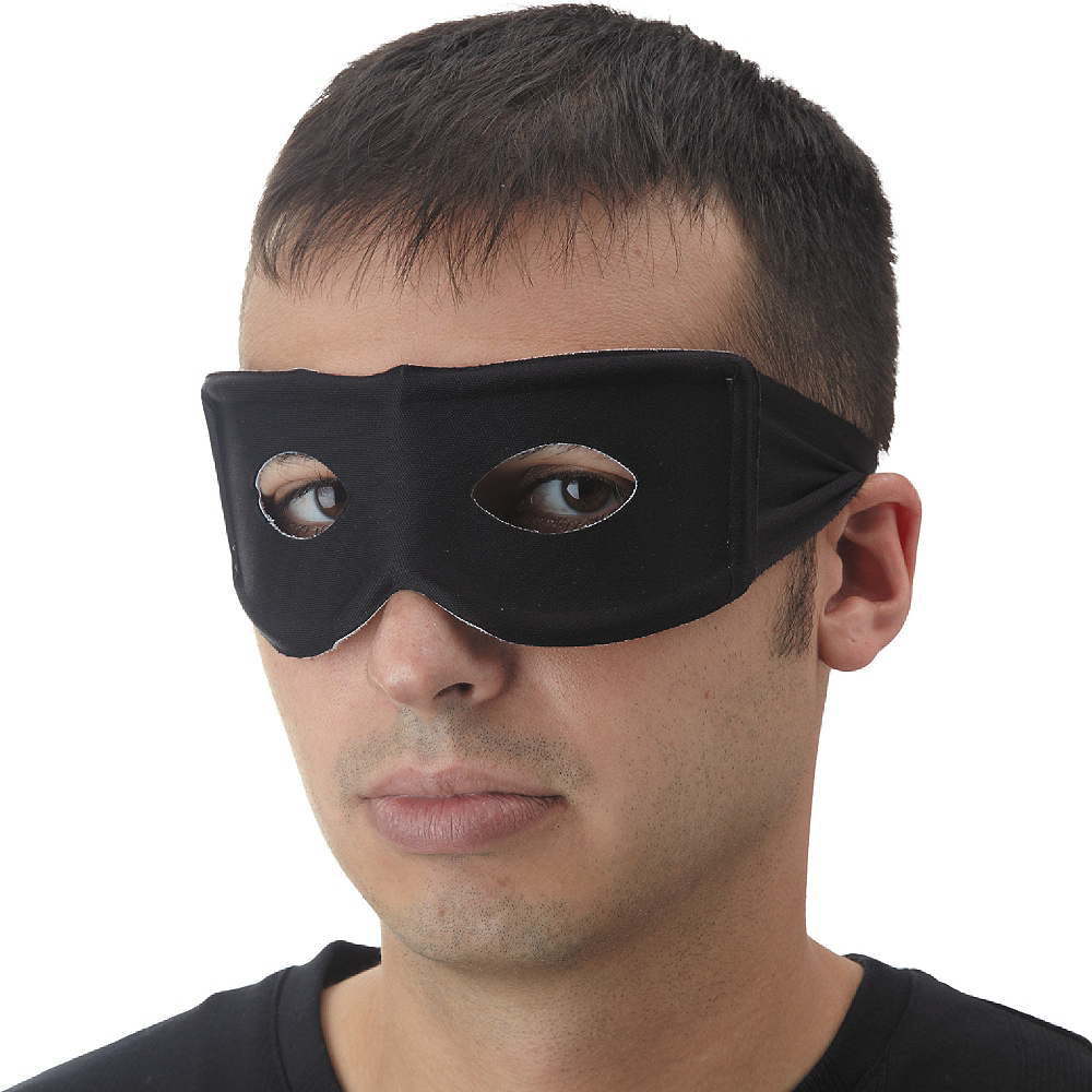 Nav Item for Black Bandit Mask Image #2