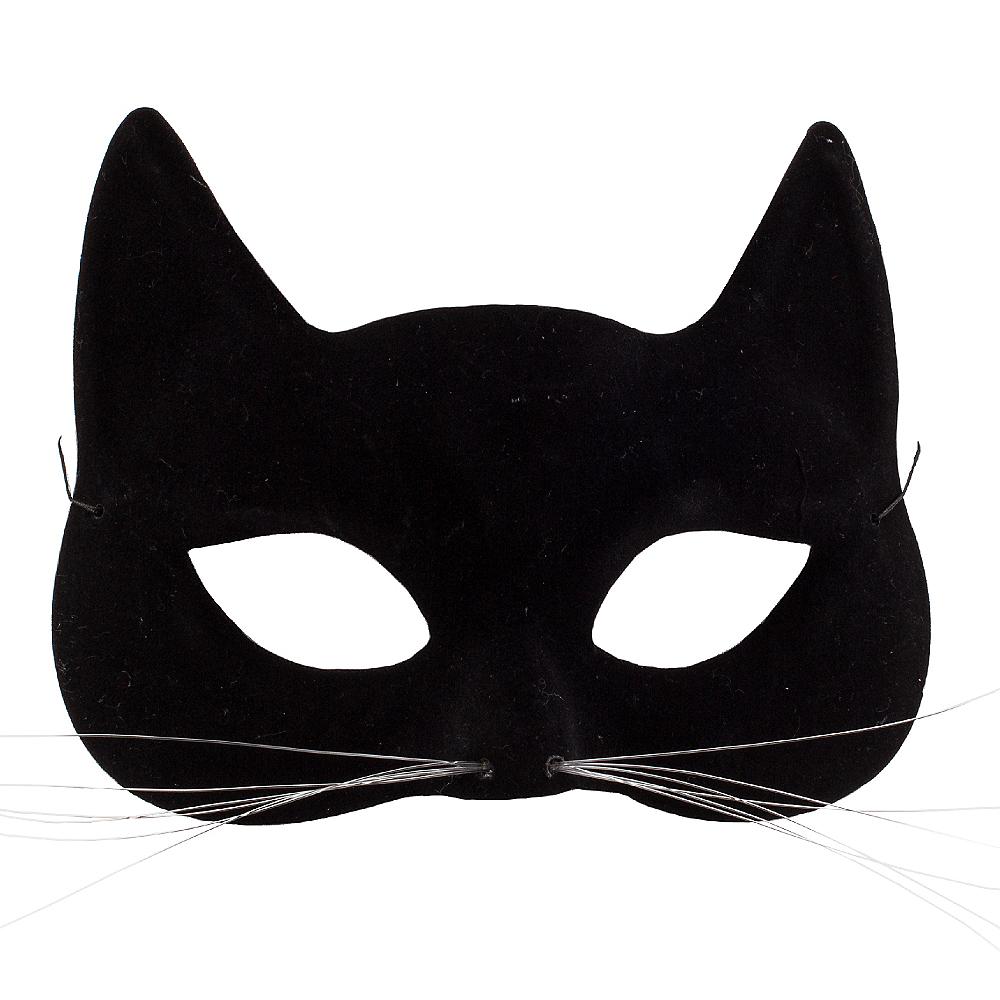 Black Cat Mask Image #1