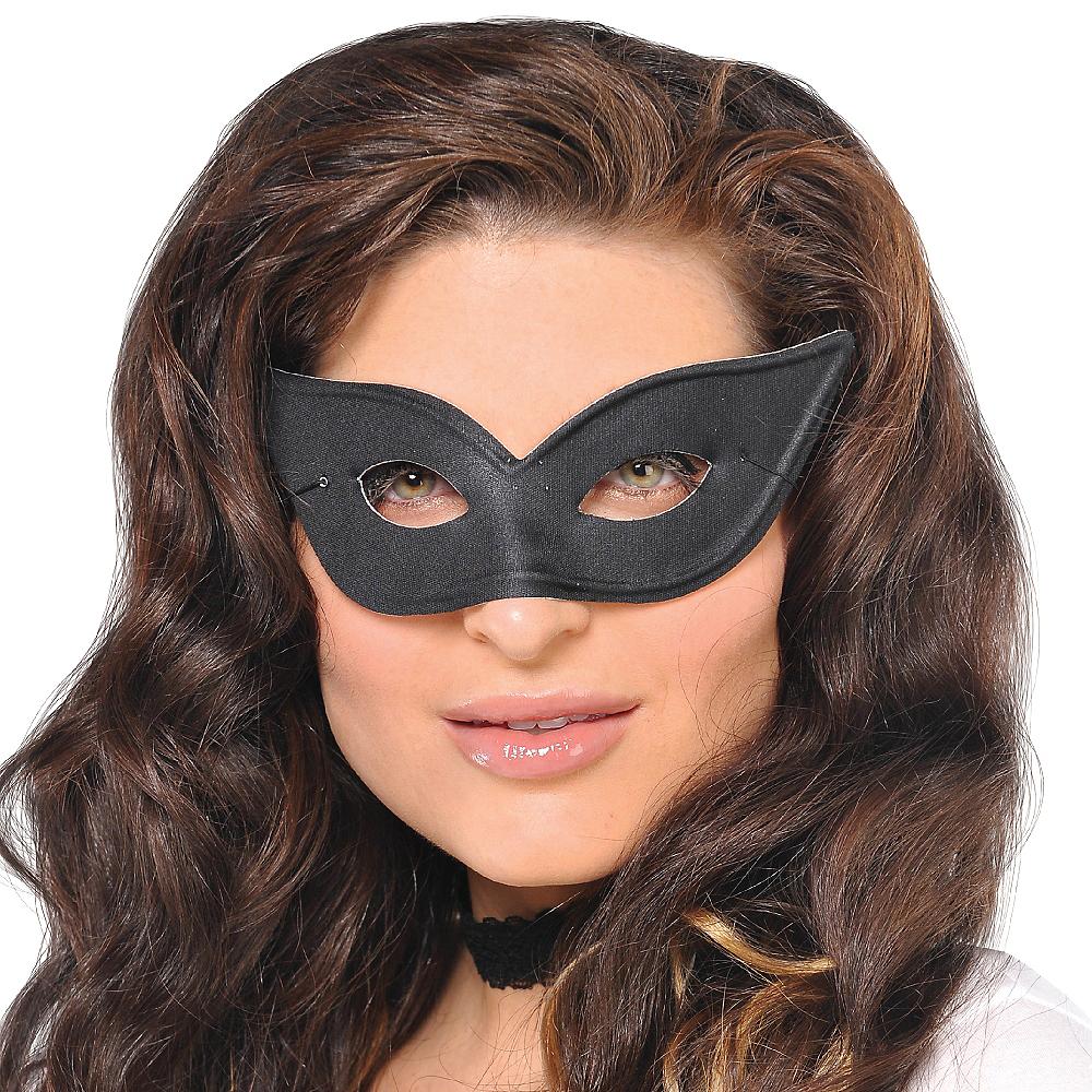 Black Winged Eye Mask Image #2