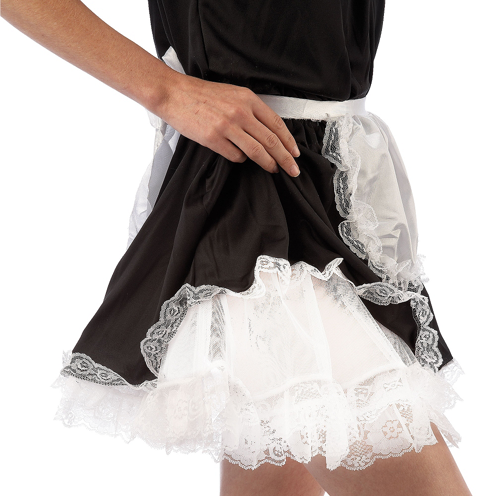 Nav Item for Adult White Lace Petticoat Image #2