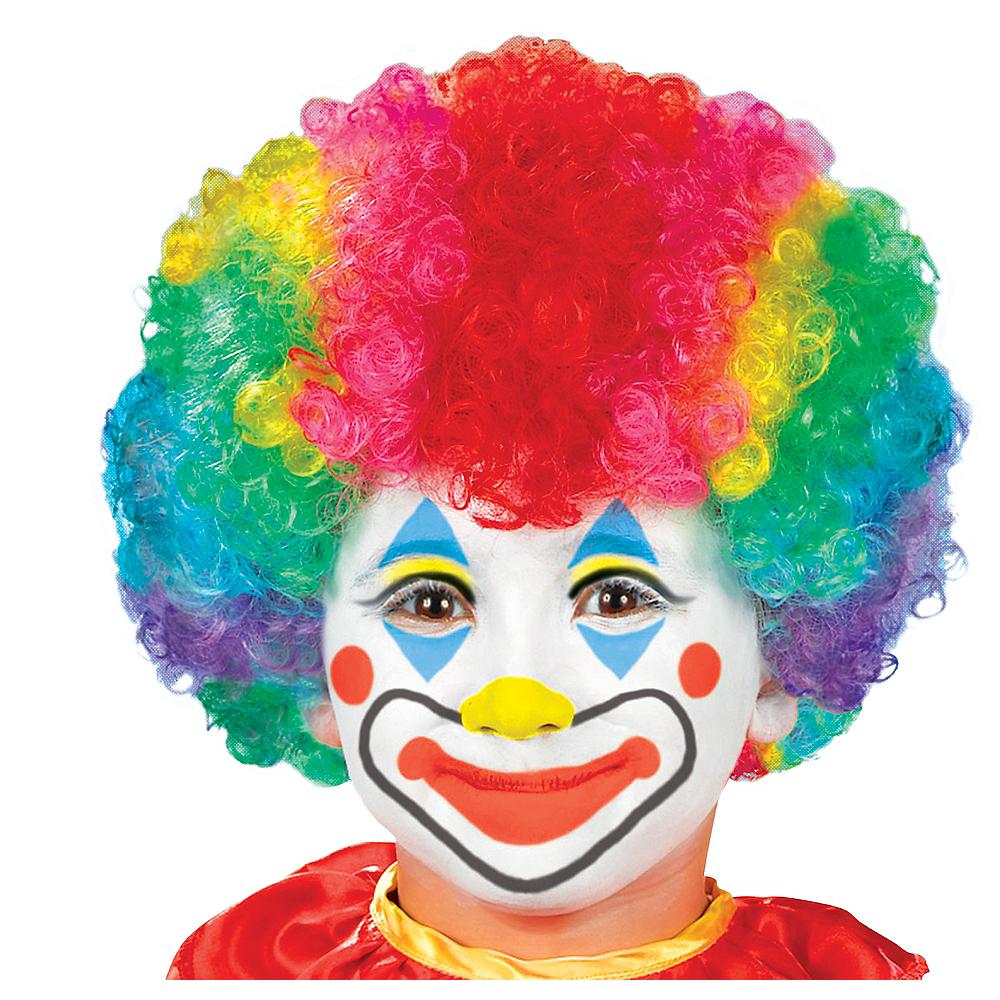 Child Clown Wig Image #1