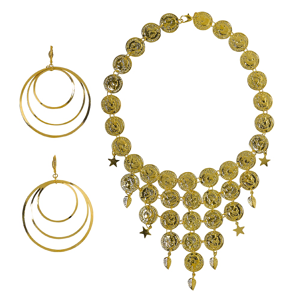 Gold Coin Jewelry Set Image #1