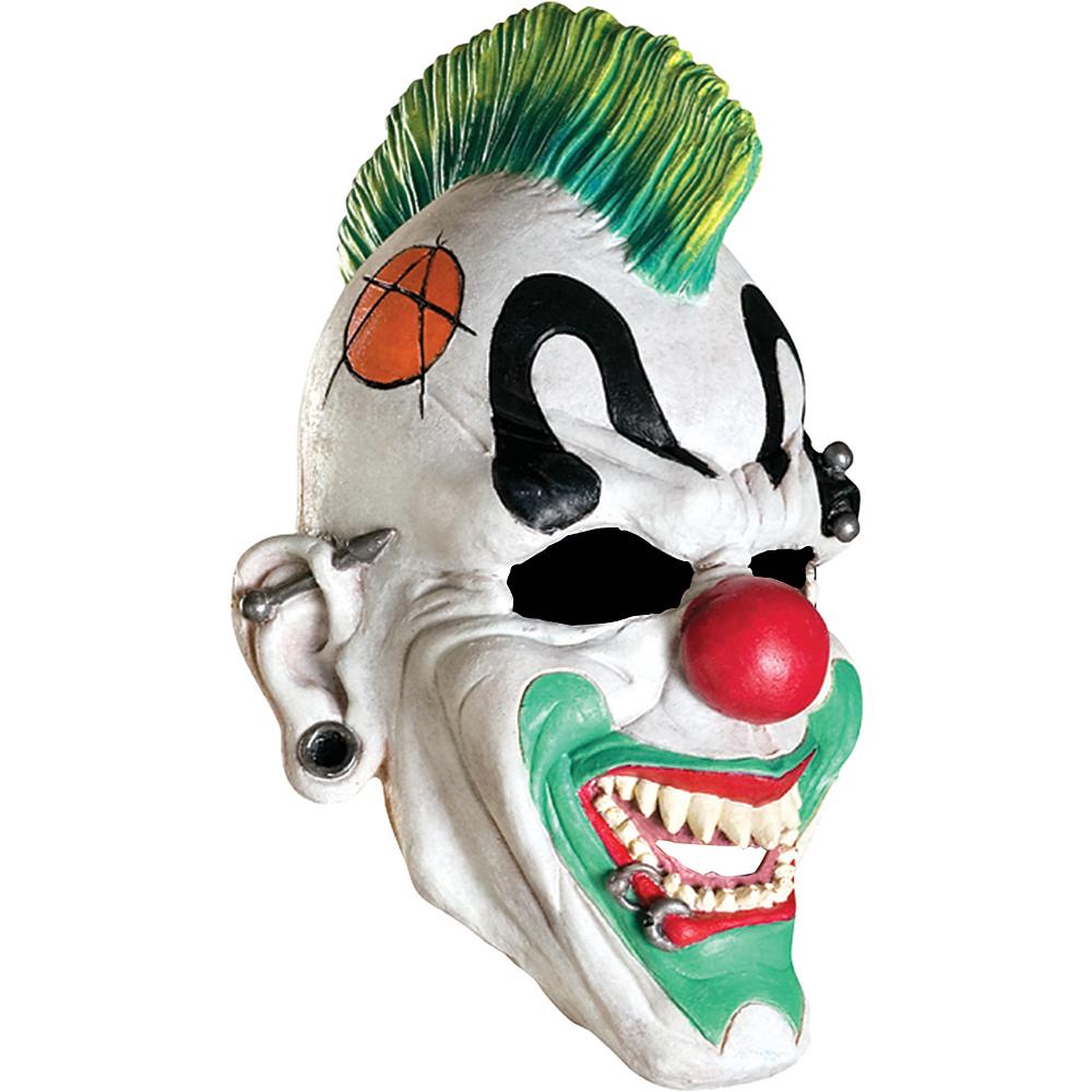 Child Punked Clown Mask Image #1