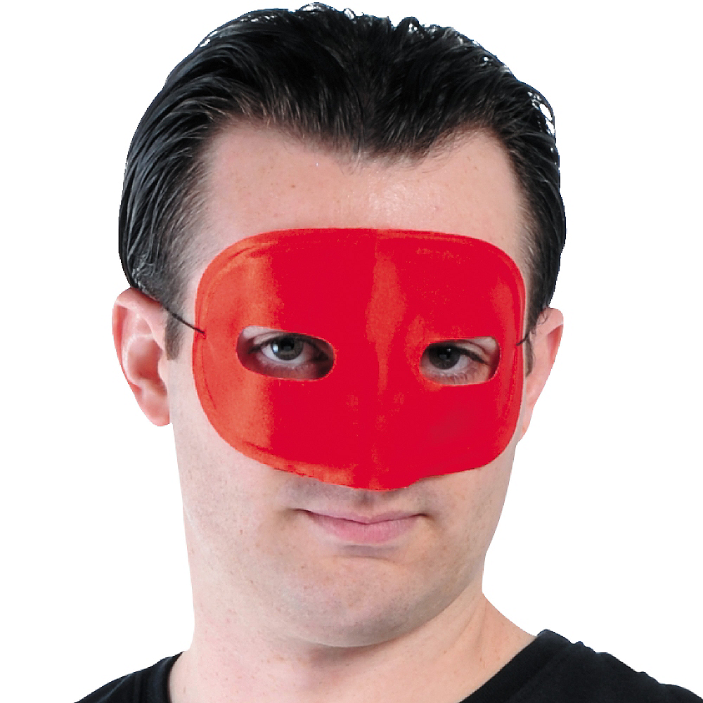 Red Domino Mask Image #2