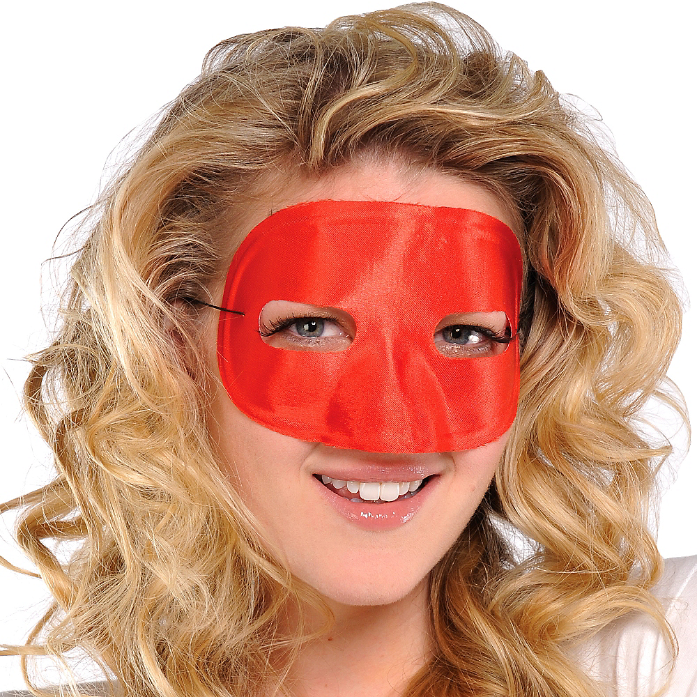 Red Domino Mask Image #3