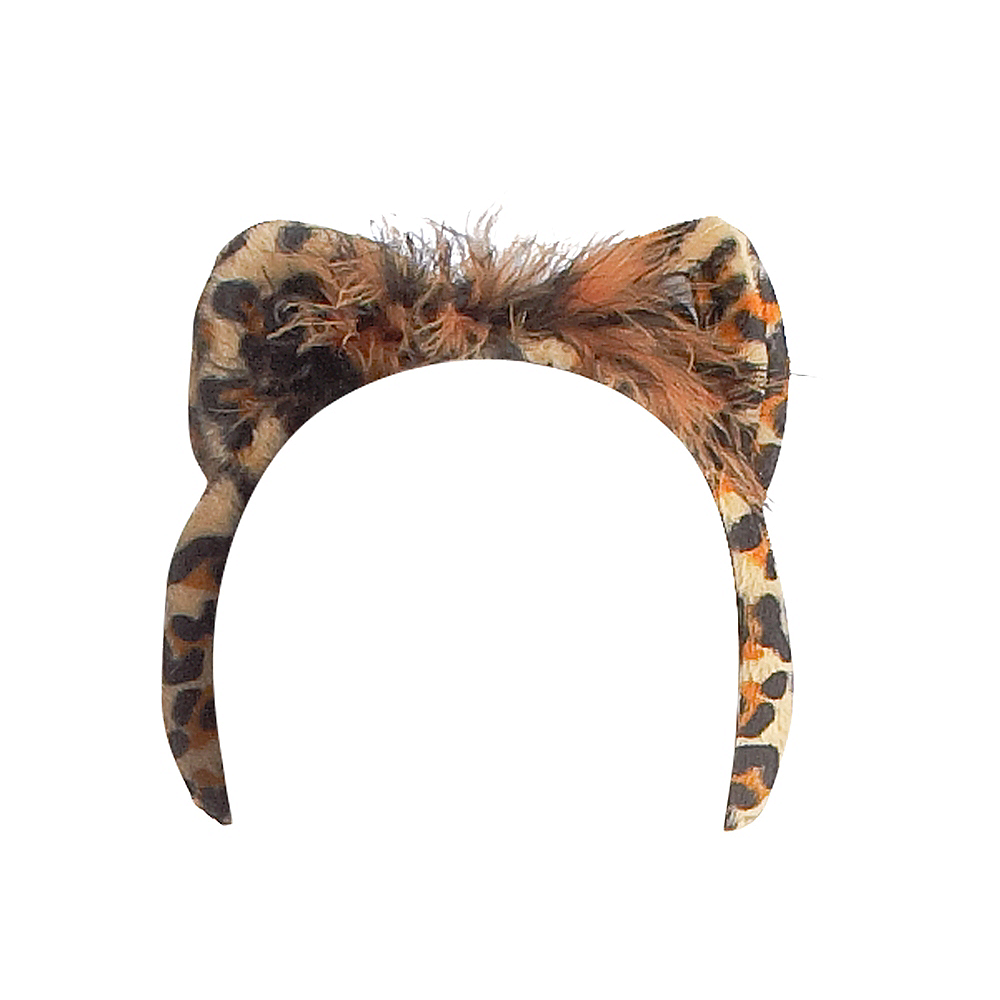 Nav Item for Leopard Ears Headband Image #1