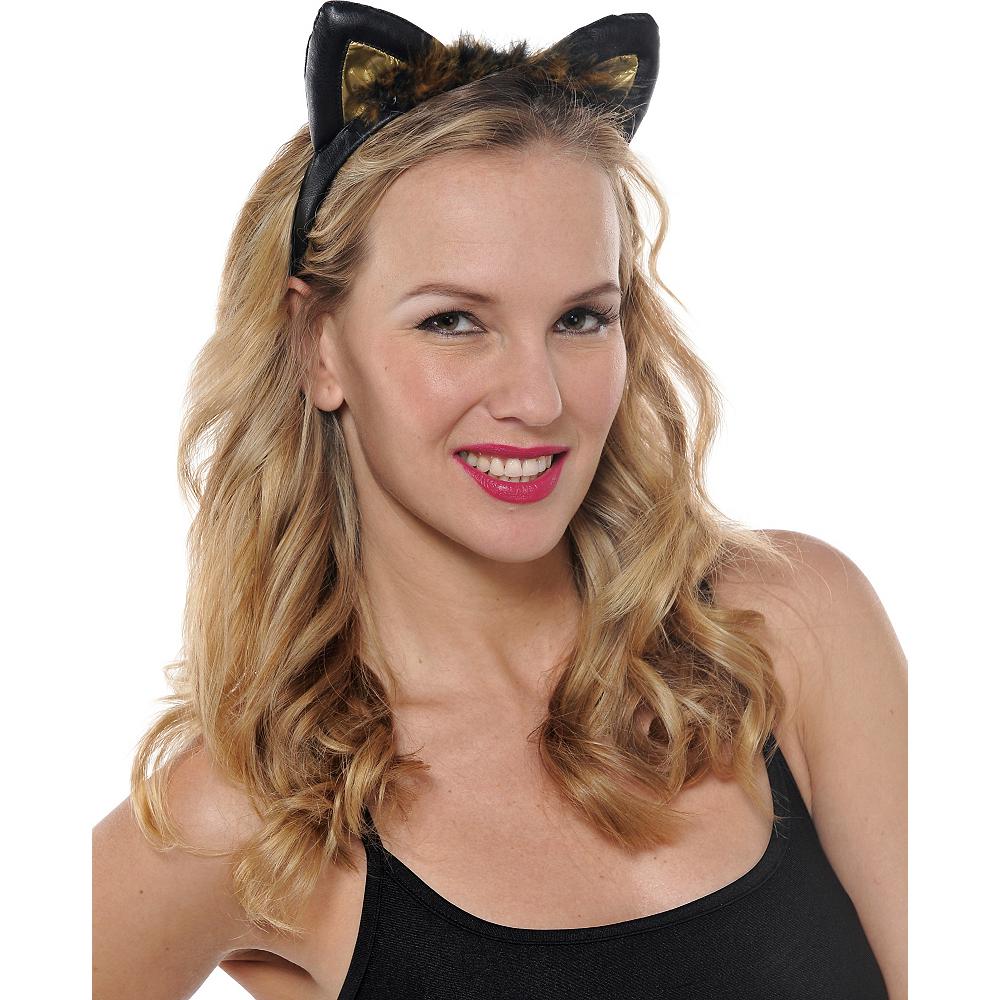 Black & Brown Cat Ears Image #2