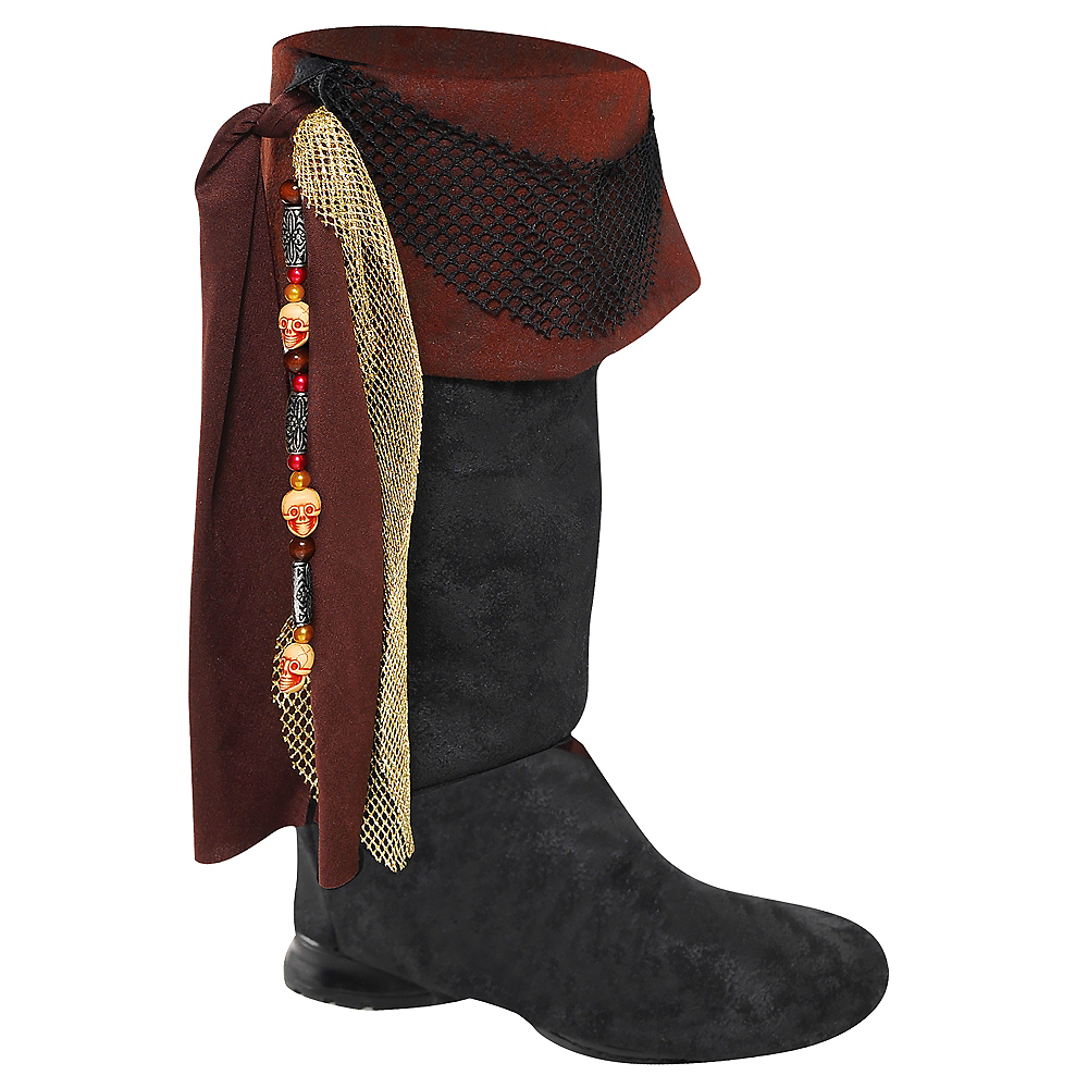 Adult Deluxe Pirate Boot Tops Image #1