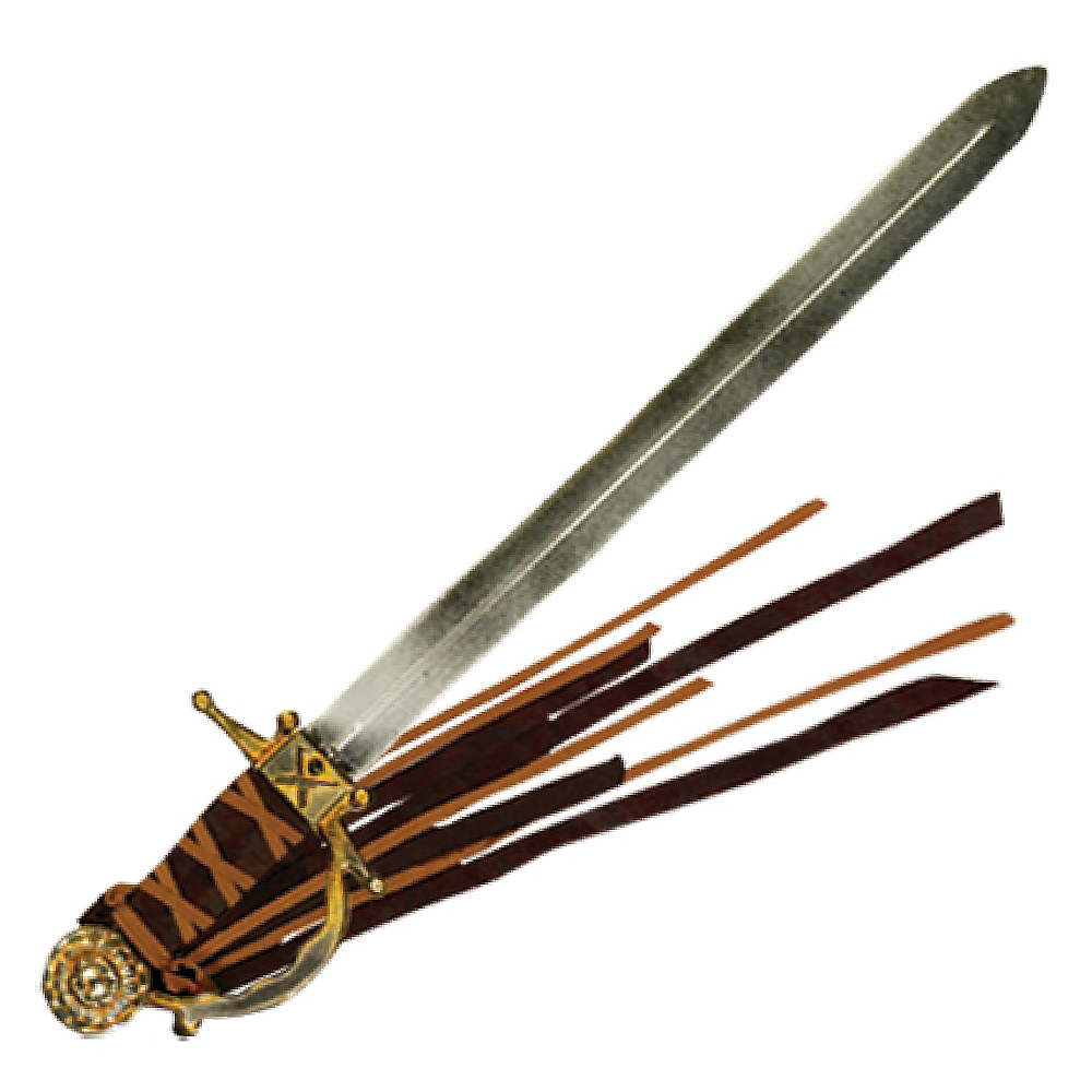 Antique Silver Pirate Sword Image #1