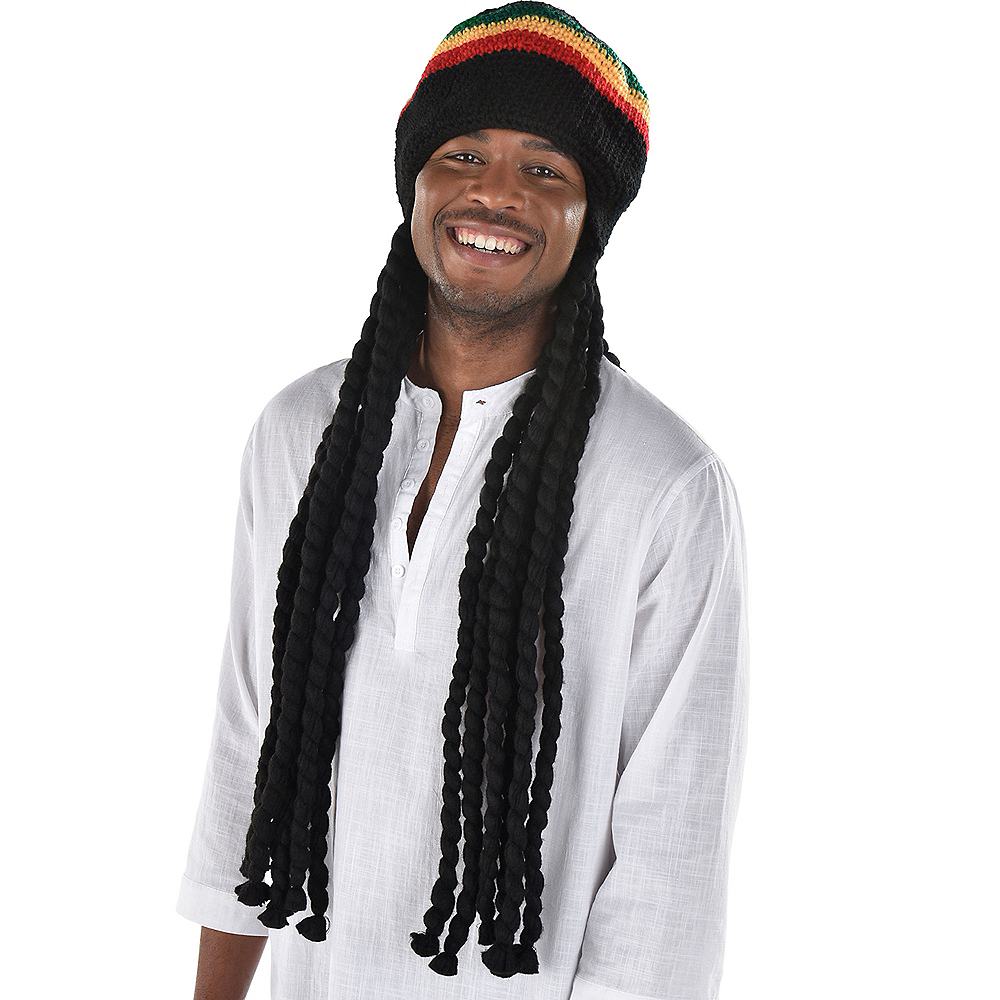 Dreadlock Wig with Tam Image #1