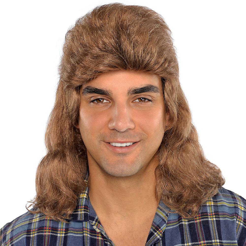 Flat Mullet Wig Image #1