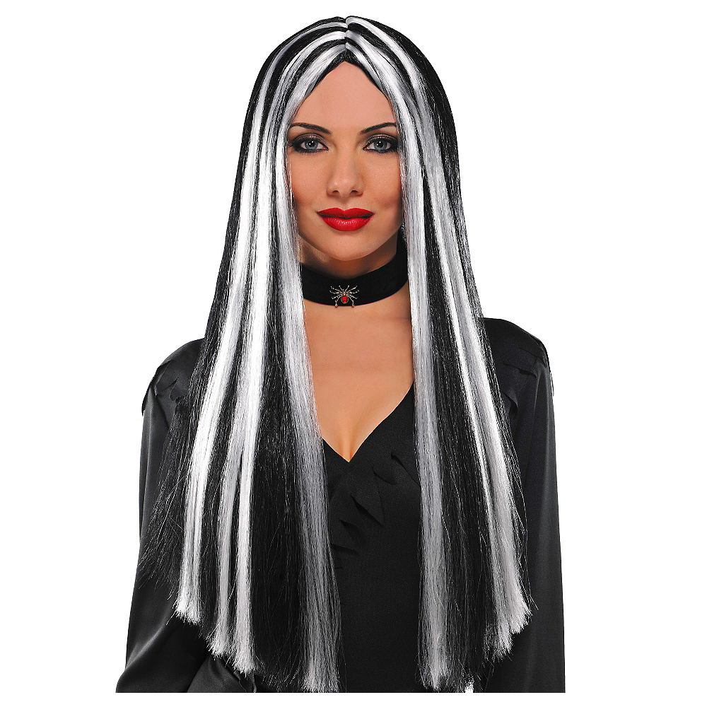 Streaked Witch Wig Image #1
