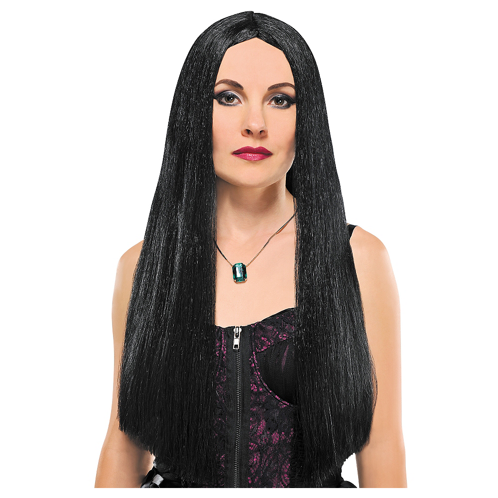 Black Witch Wig Image #1