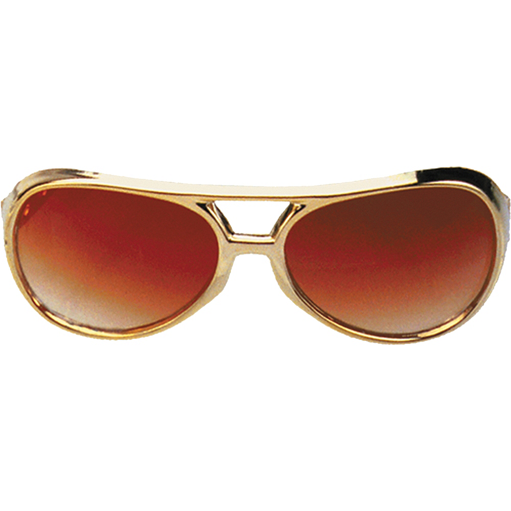 Rock & Roller Gold Sunglasses Image #1