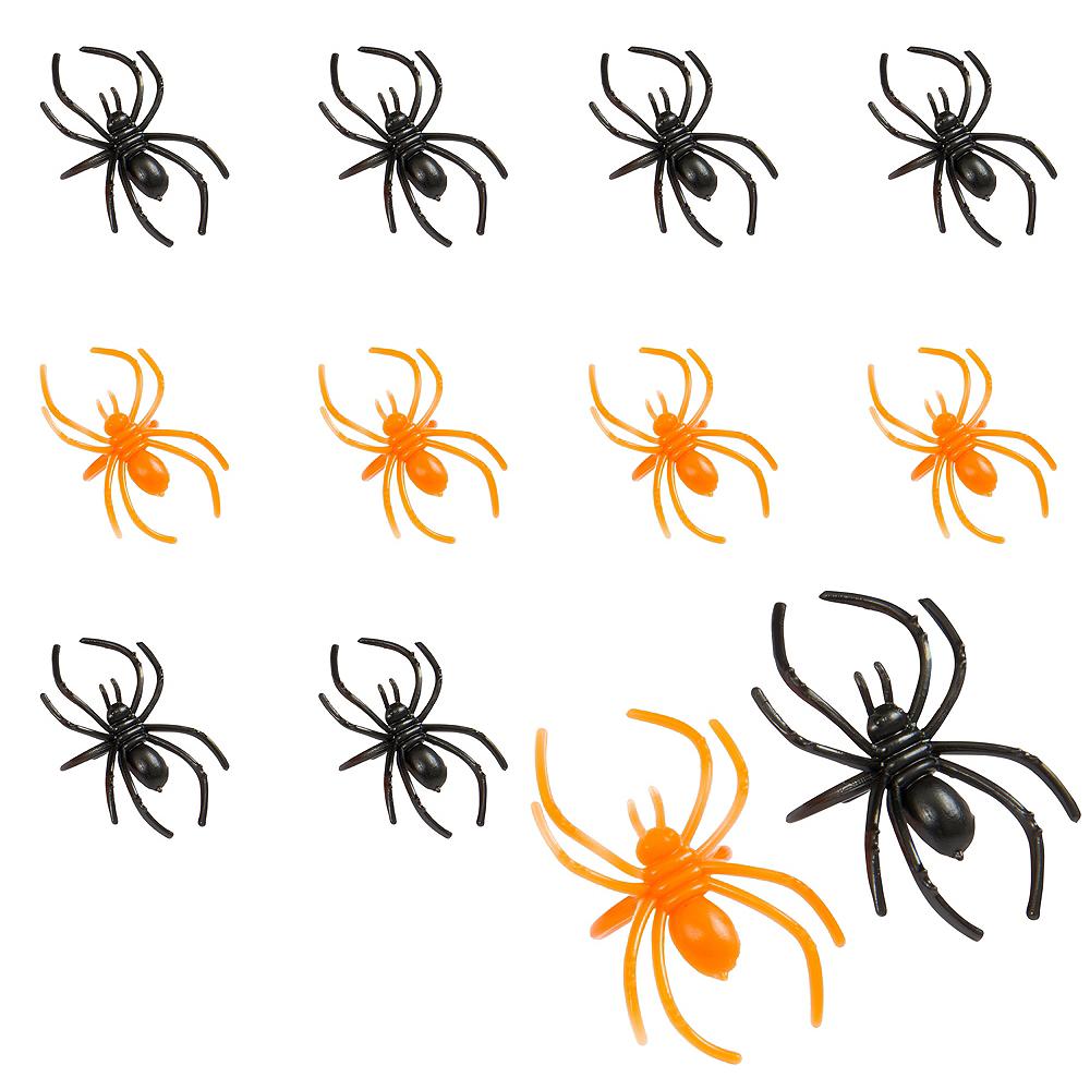 Black & Orange Spider Rings 30ct Image #1