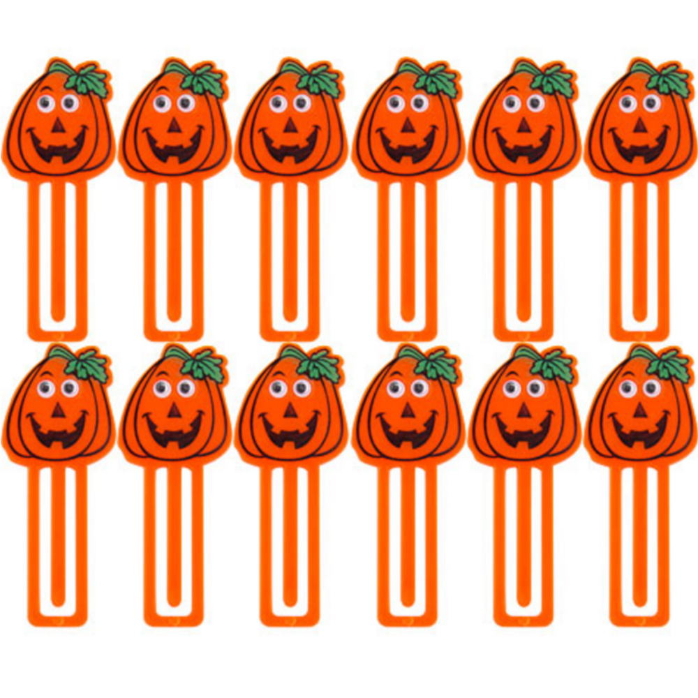 Pumpkin Bookmarks 12ct Image #1