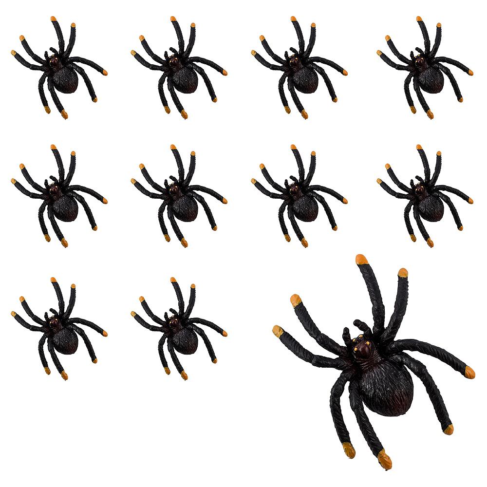 Black & Orange Tip Spiders 36ct Image #1