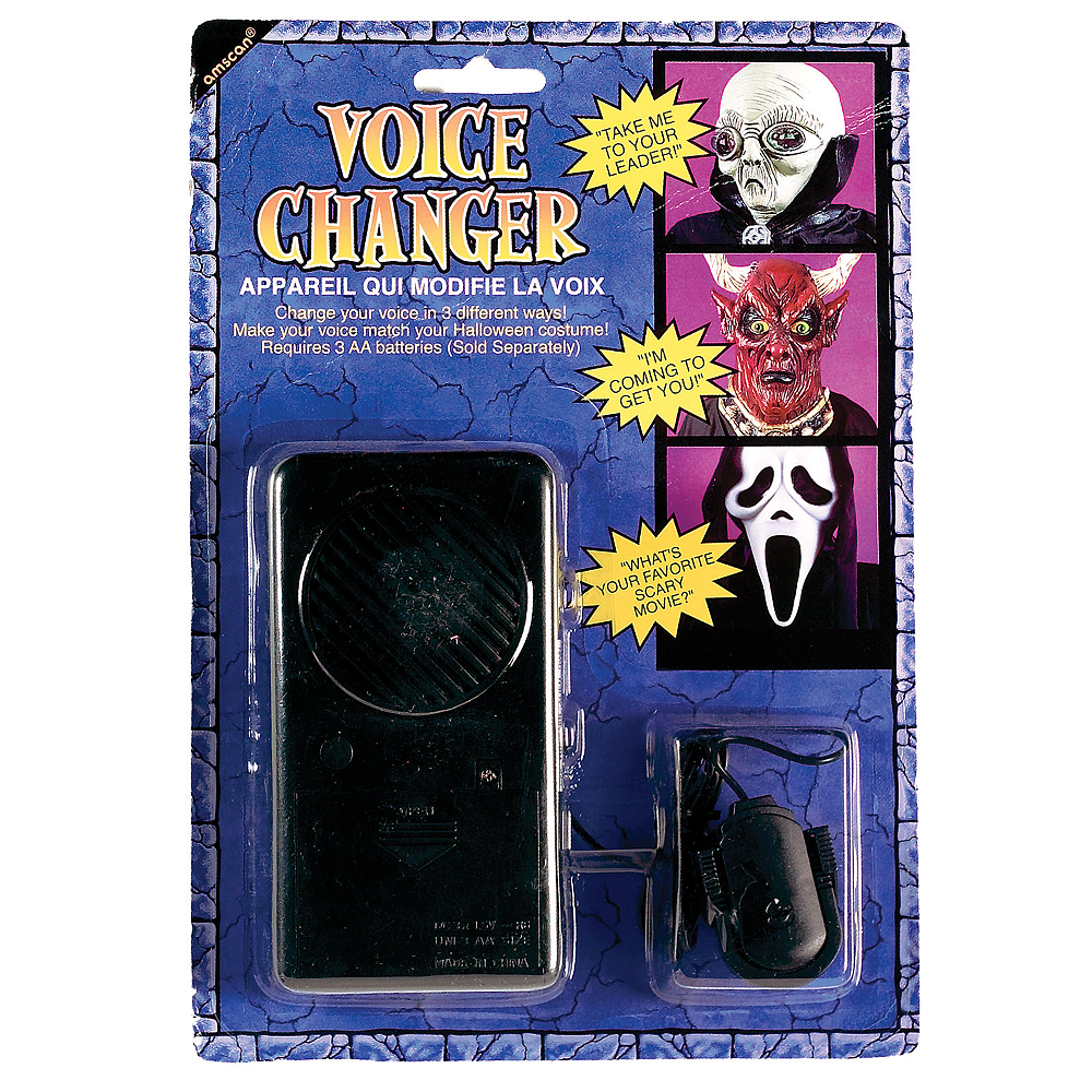 Halloween Voice Changer Party City
