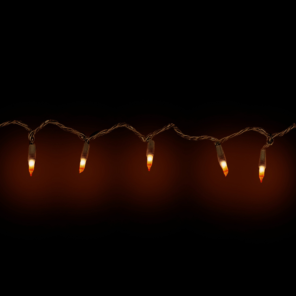Orange String Lights Image #2
