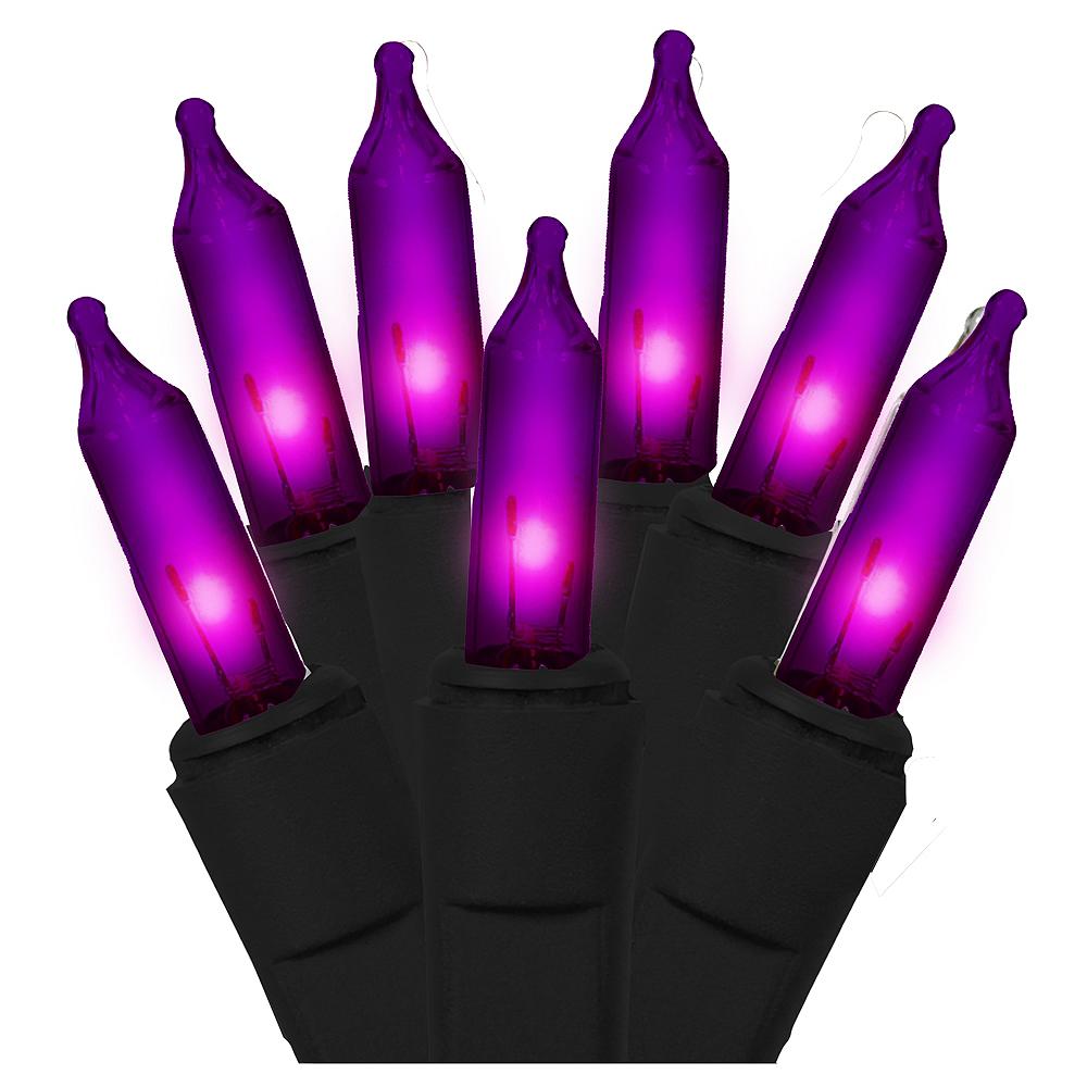 Purple String Lights Image #1