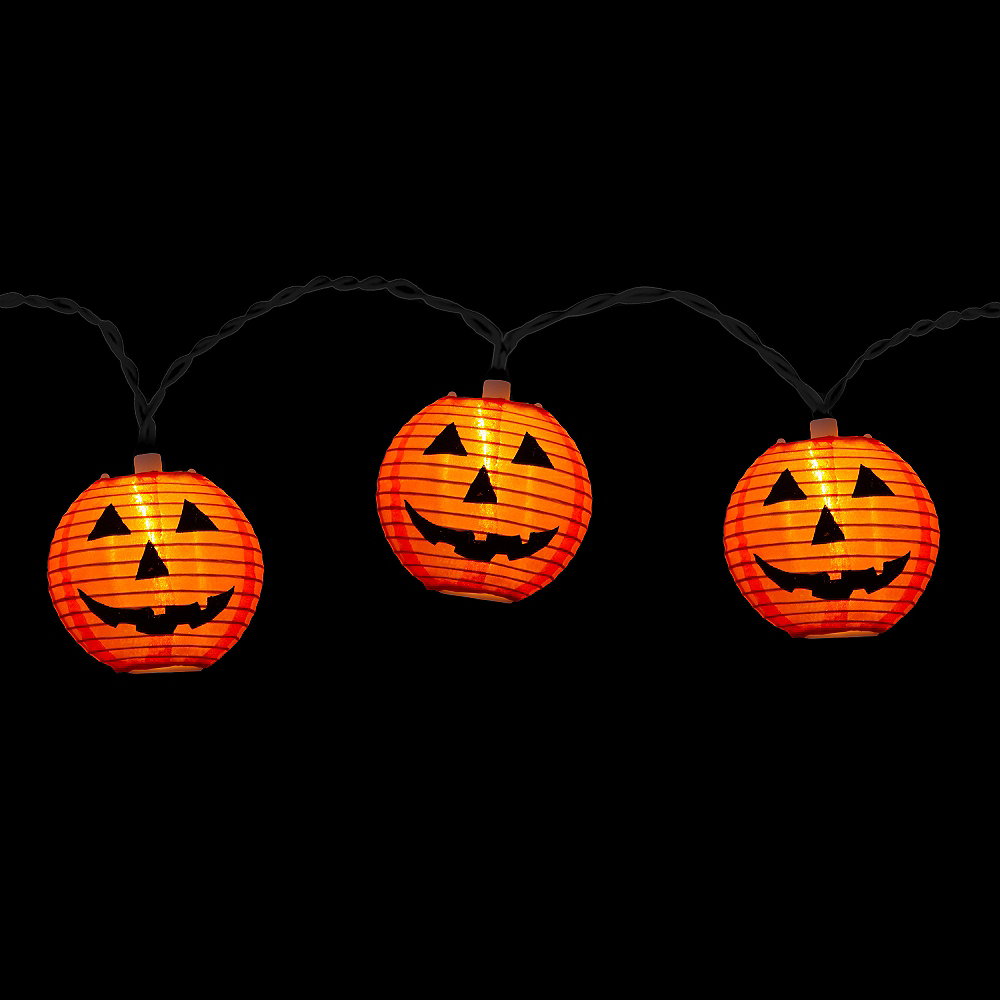 Electric Pumpkin Lights Image #2