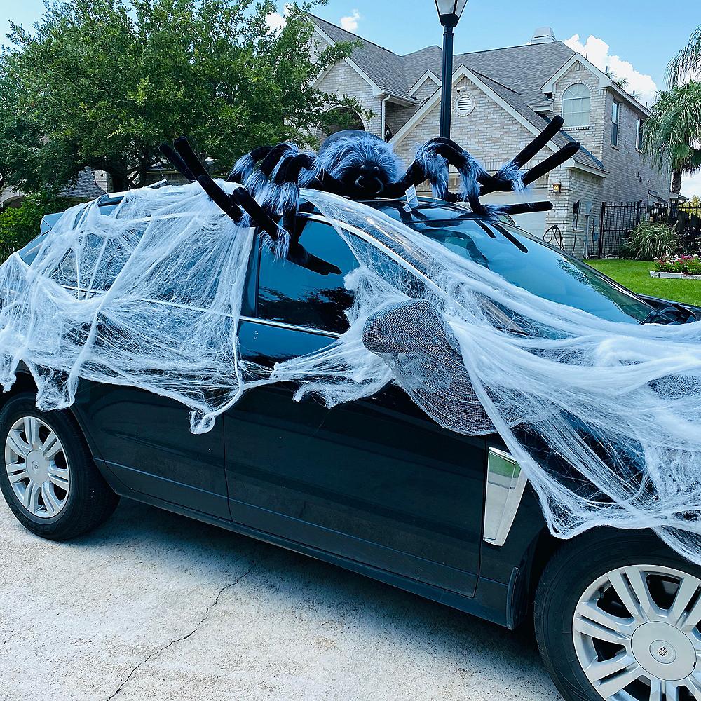 White Stretch Spider Web Image #6
