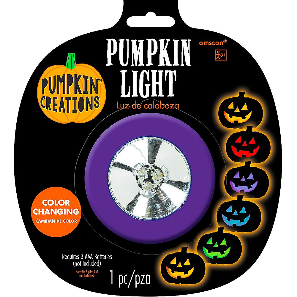 Color Changing Pumpkin Light Image #1