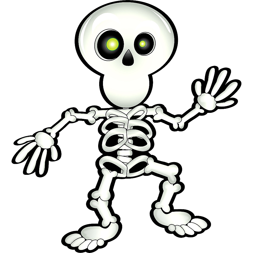 Pin the Smile on the Skeleton Game Image #2