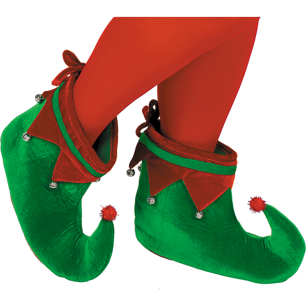 Elf Shoes For Adults Party City