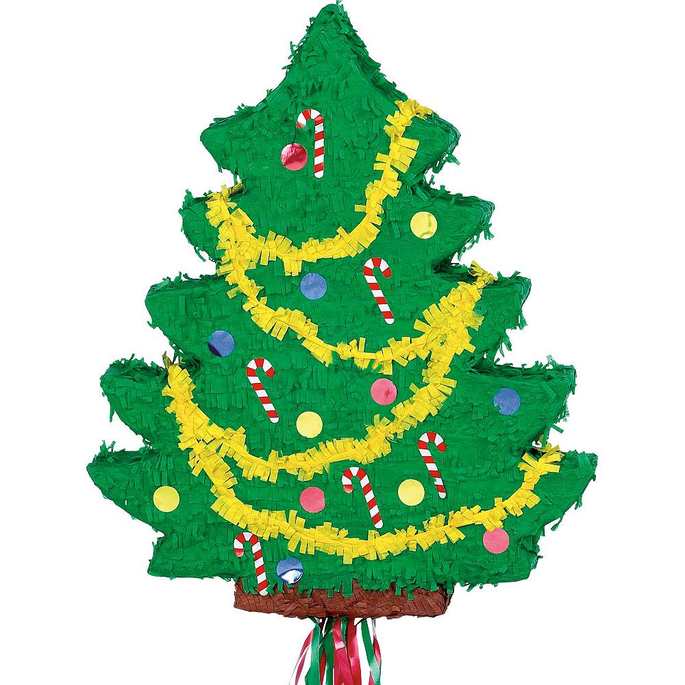 Christmas Pinata.Pull String Christmas Tree Pinata