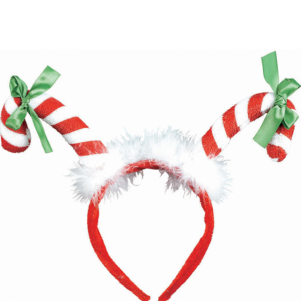 Nav Item for Candy Cane Headband Image #1