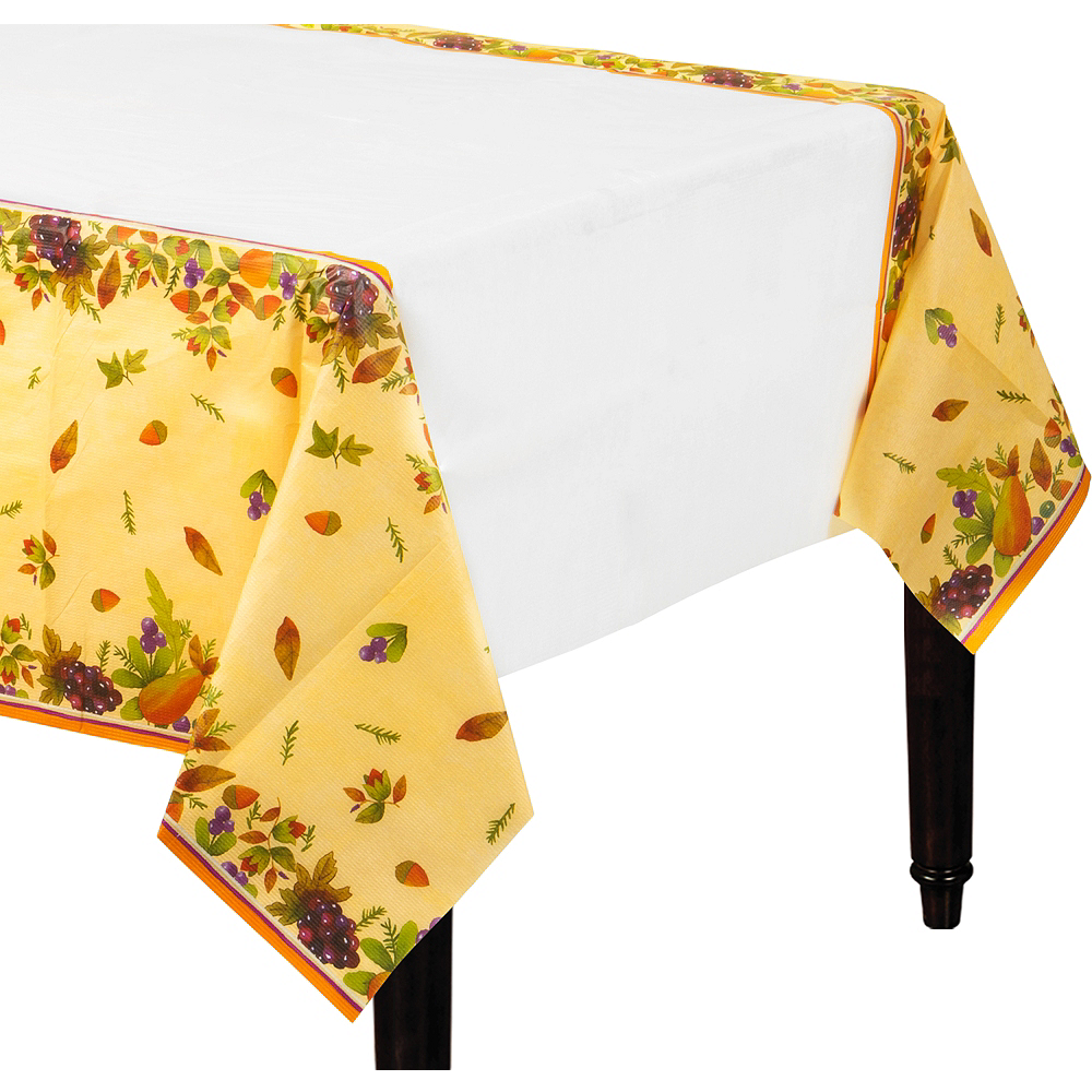 Thanksgiving Medley Paper Table Cover Image #1
