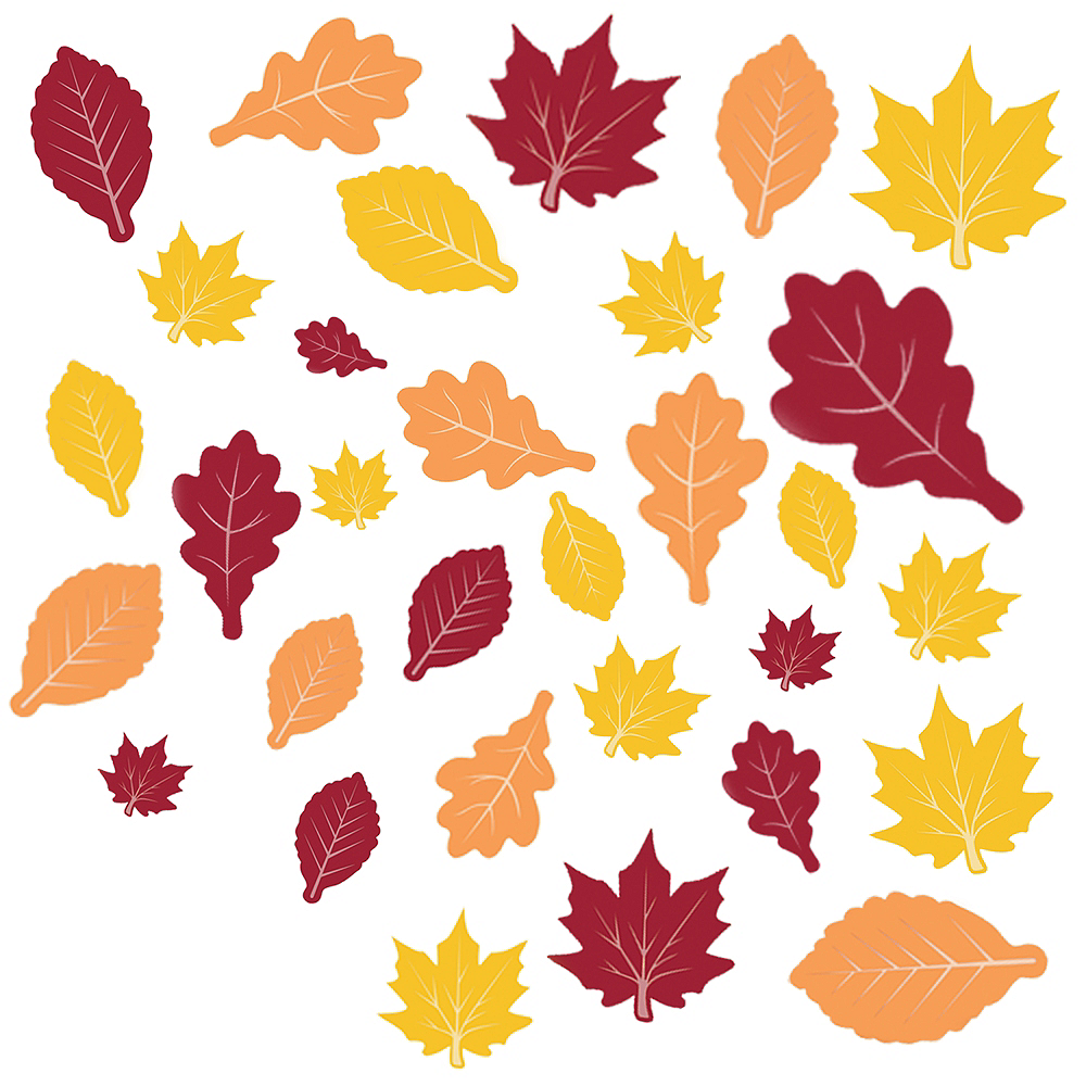 Fall Leaves Cutouts 30ct Image #1