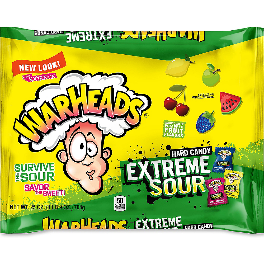 Extreme Sour Warheads Candy 175ct Image #1