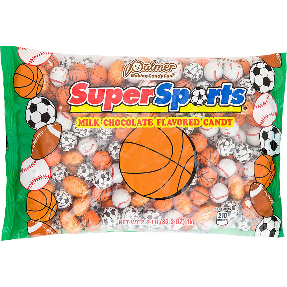Palmer SuperSports Chocolate Balls 185pc Image #1