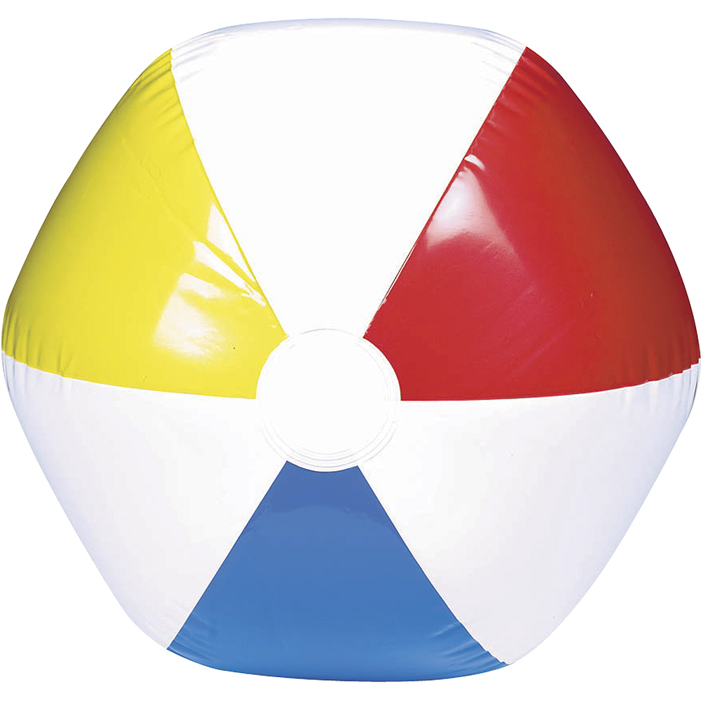 Multi Color Beach Ball Image #1