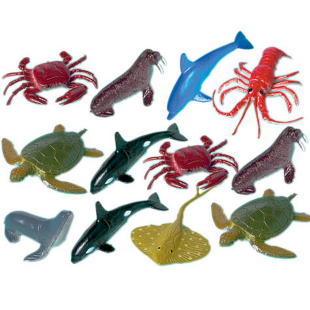 Sea Animals 12ct Insects Animals Figure Toys Party City