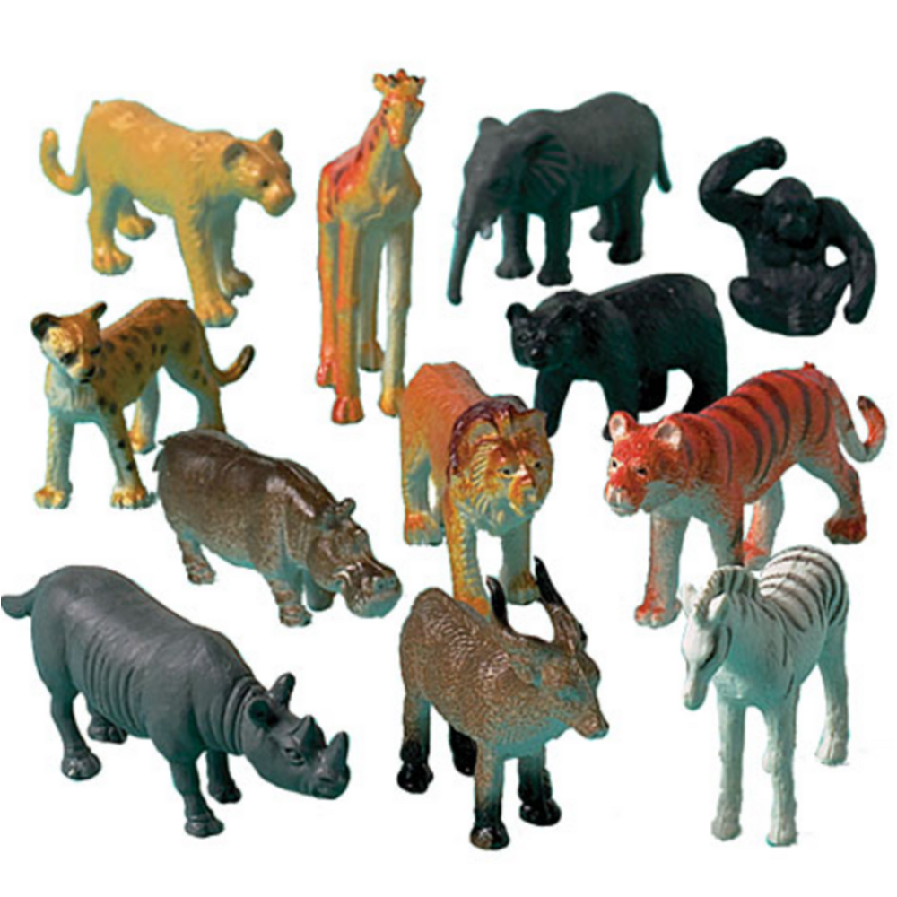 Jungle Animals 12ct Image #1